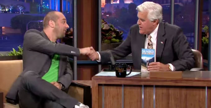 Michael Wigge on the Tonight Show with Jay Leno