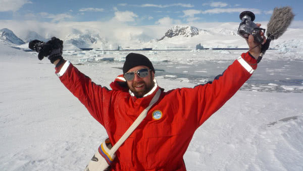 Wigge made it to Antarctica