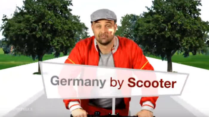 Germany By Scooter Episode 1