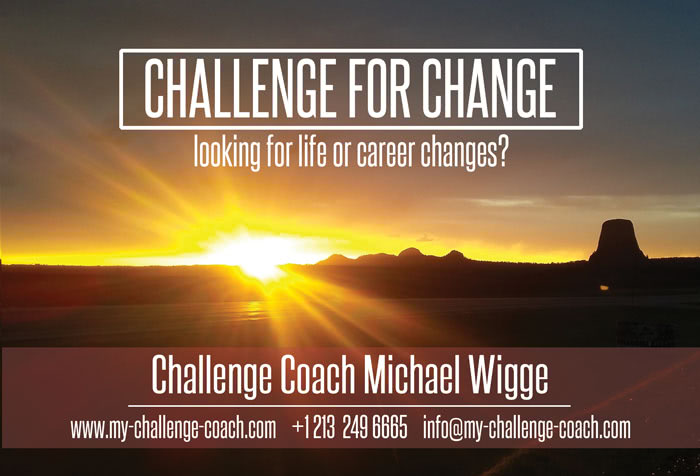 Challenge for Change - looking for life or career changes?