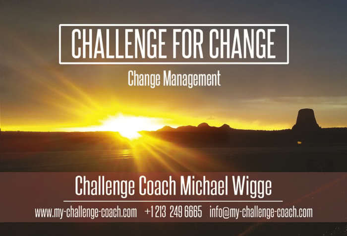 Challenge for Change - Change Management